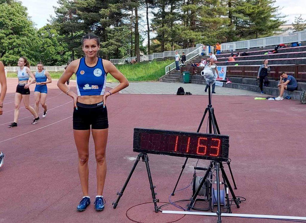 Ivana Ilić U20NR 100m-11,63