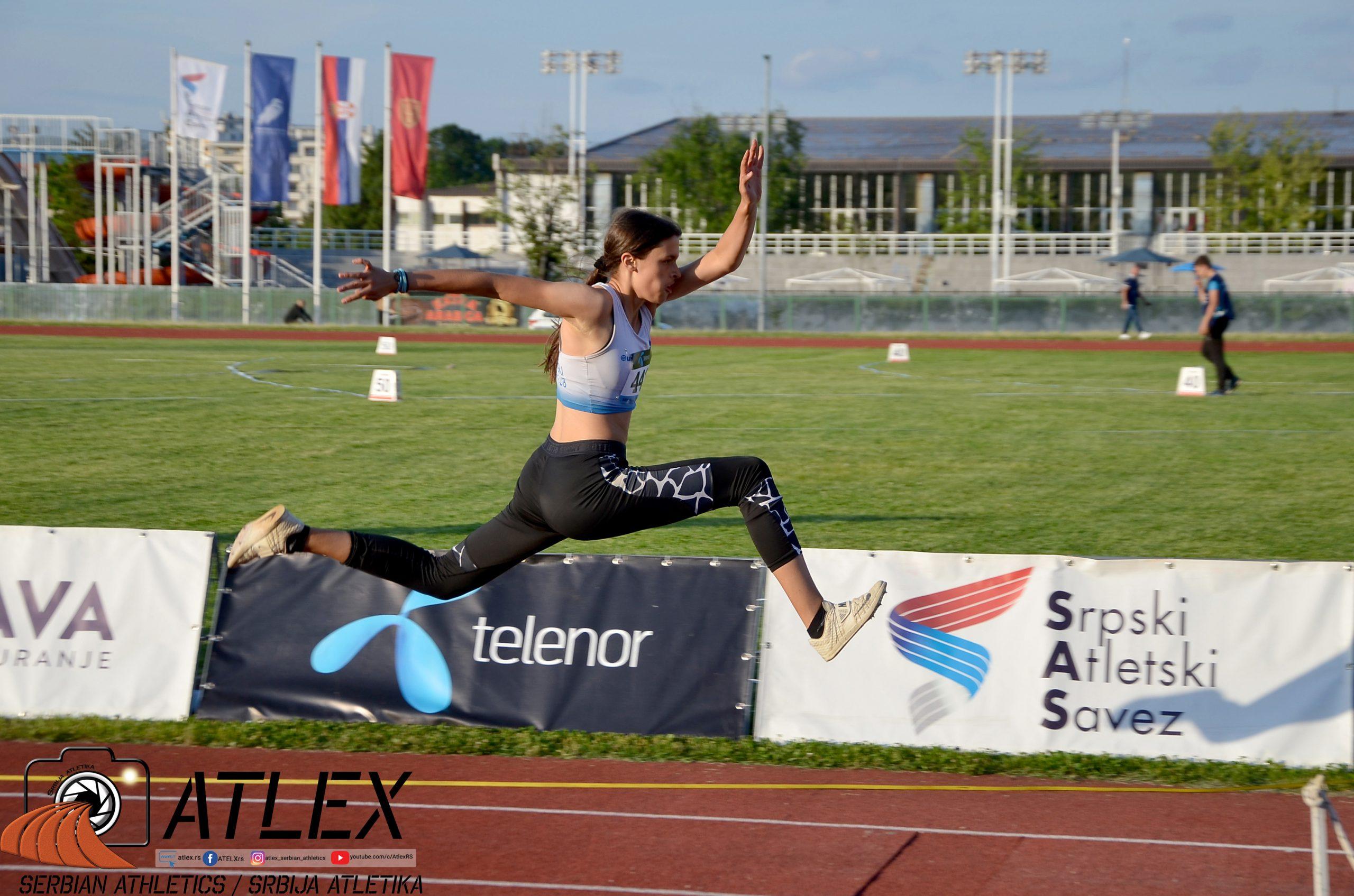 Natalija Dragojević, troskok, U20 PS 2021
