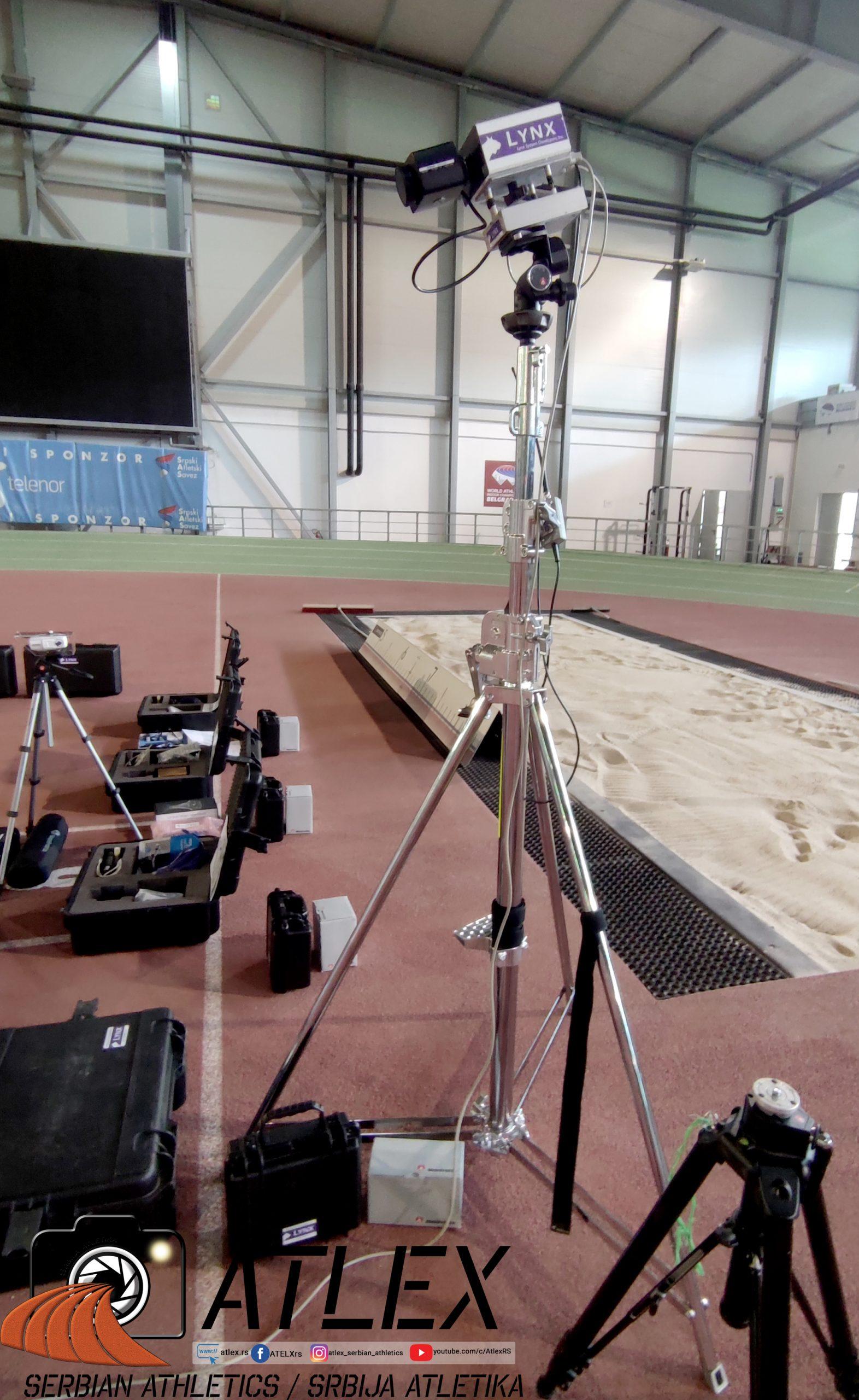 Nova elektronika, nova finiš kamera na novom stalku za visoke uglove