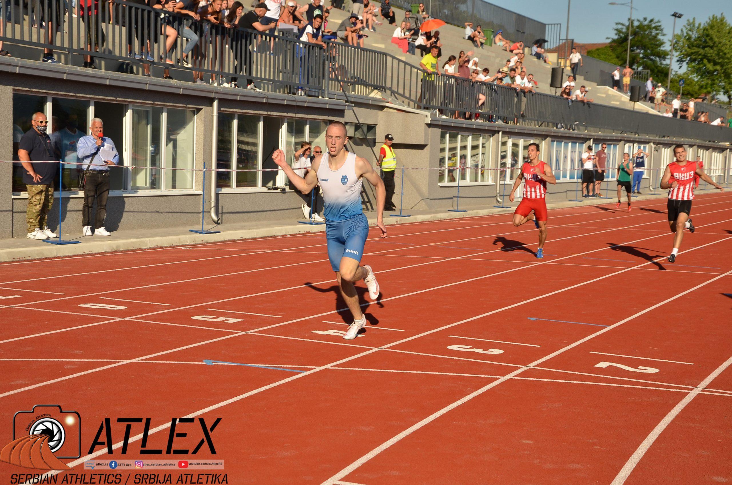 Prvenstvo Srbije 2021 - Boško Kijanović, 400m