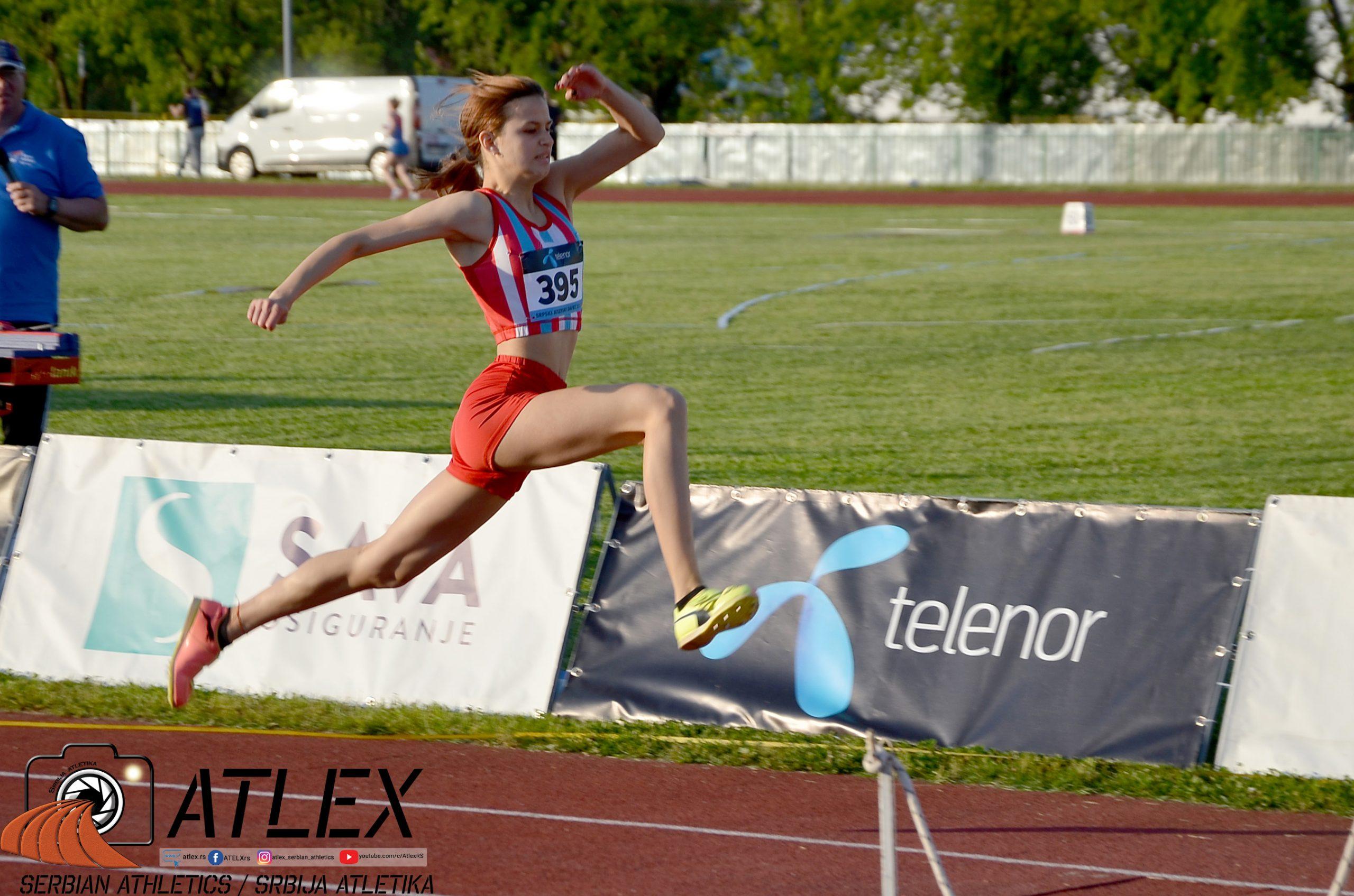 Teodora Boberić, U20 prvenstvo Srbije 2021