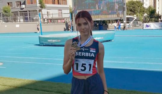 U20 Balkanijada - Angelina Topić - zlato