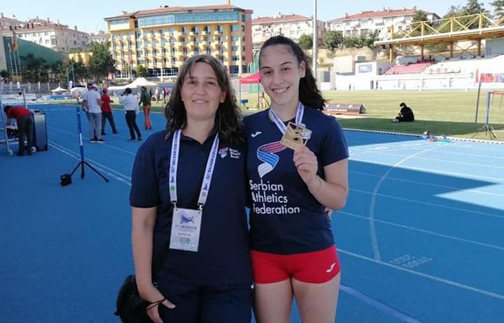 Adriana Vilagoš, U20 Balkanijada zlato