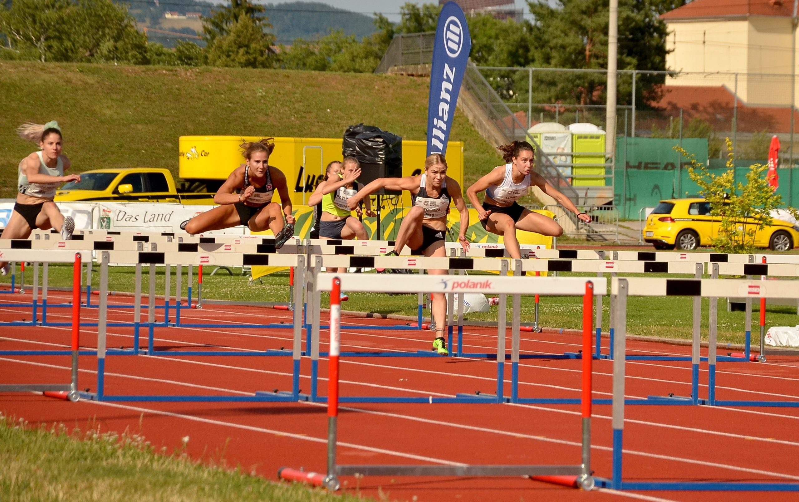 Anja Lukić, 100m prepone Grac 2021