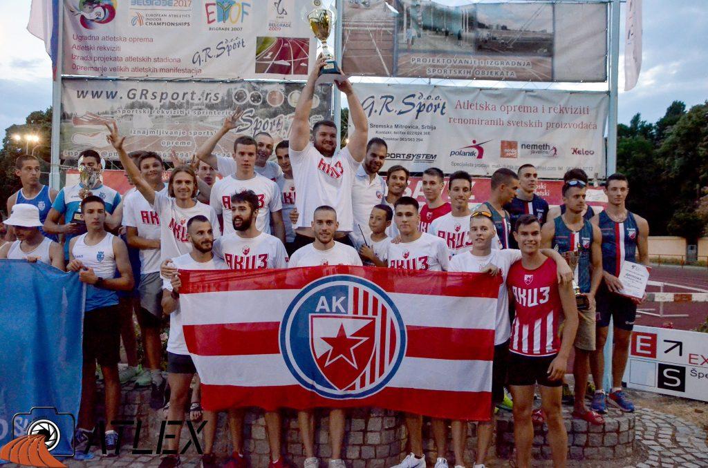 Ekipno prvenstvo Srbije 2021, šampioni - Crvena zvezdda
