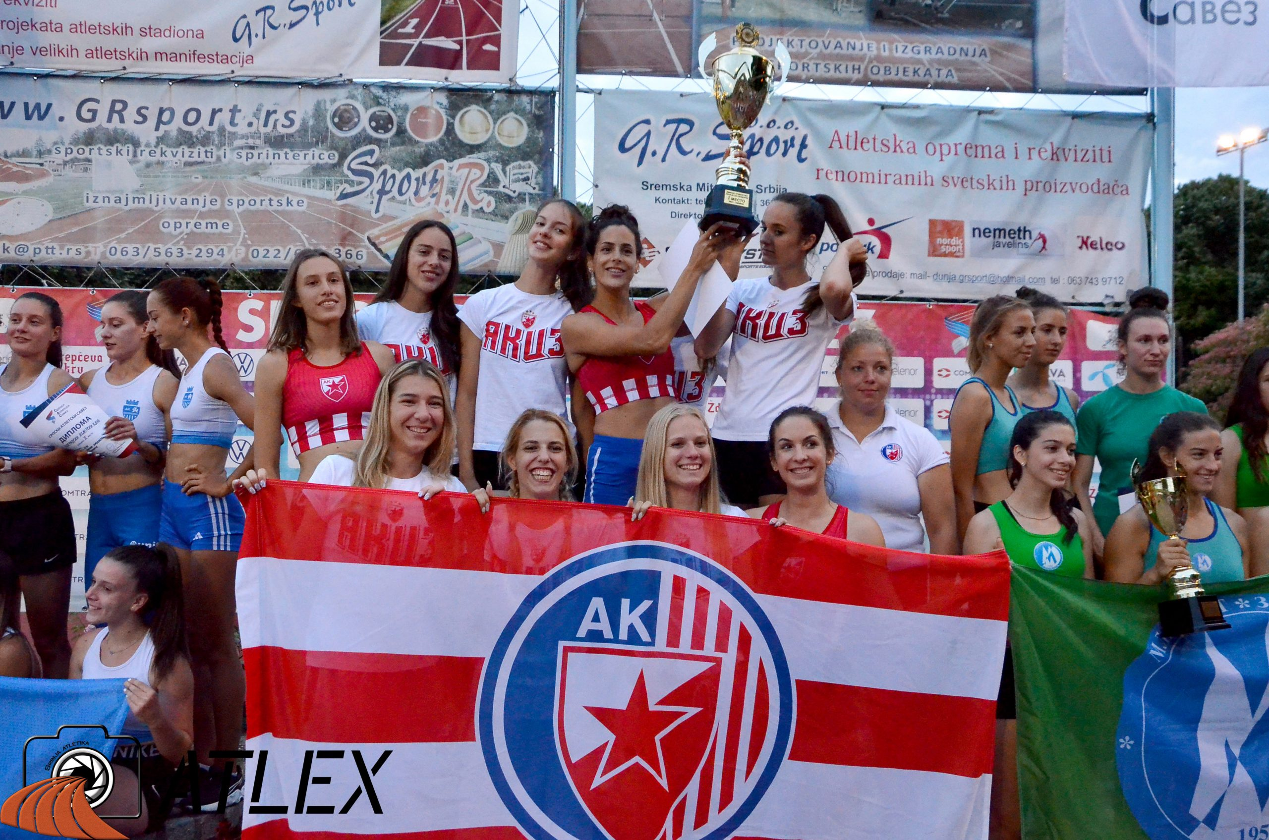 Ekipno prvenstvo Srbije 2021, šampionke - Crvena zvezda
