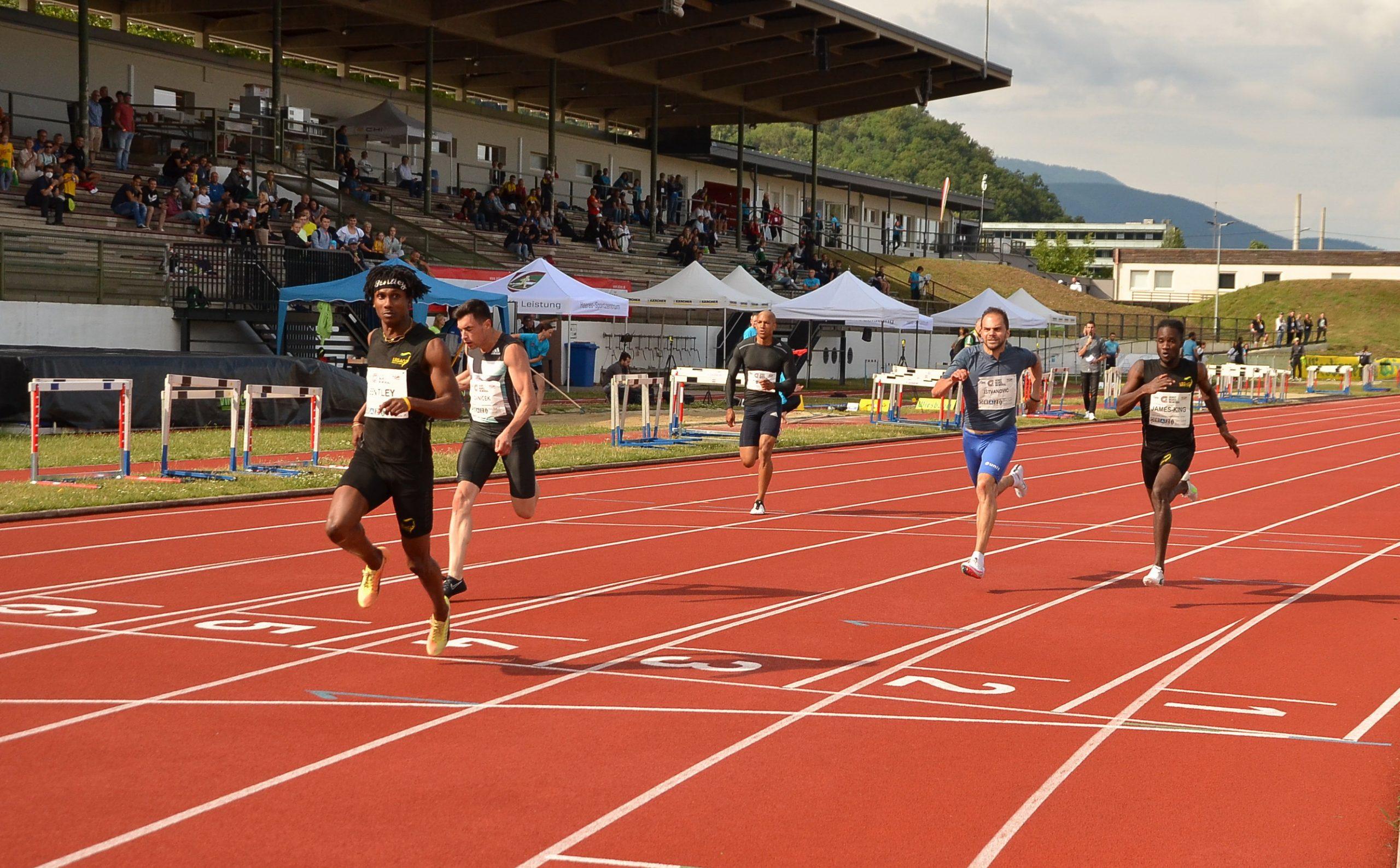 Filip Ištvanović, 100m Grac 2021