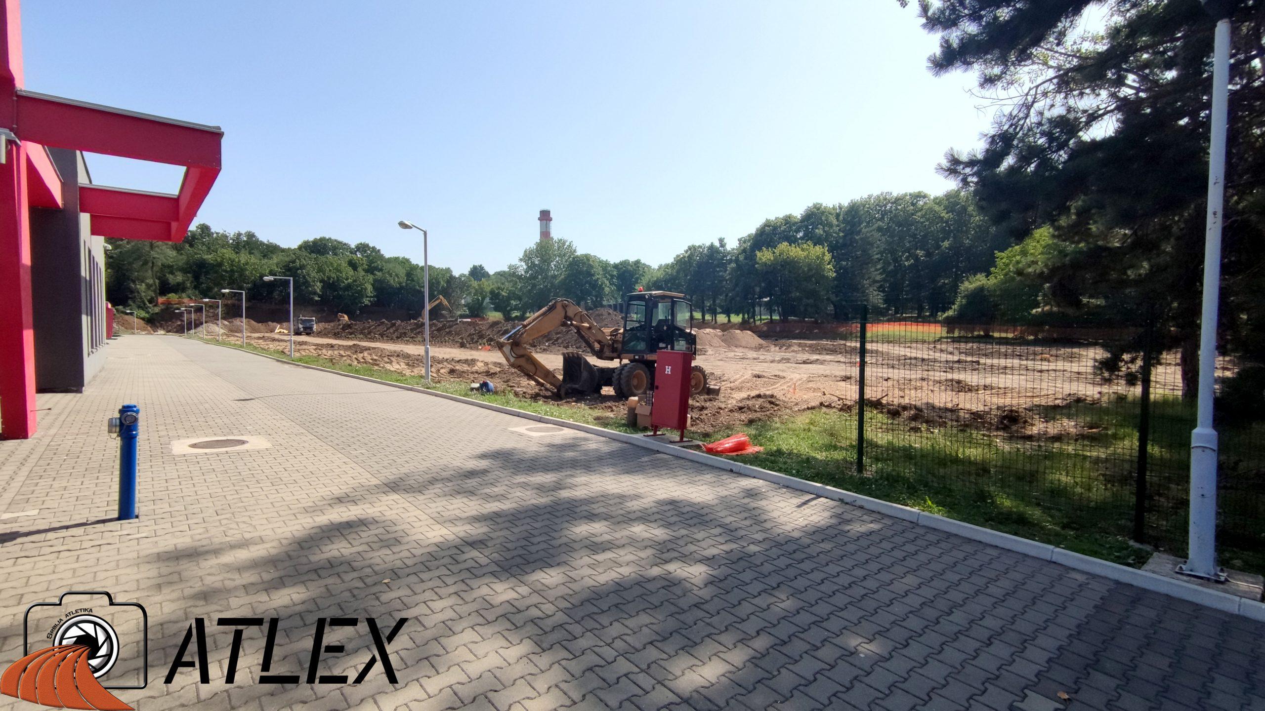 Izgradnja atletskog stadiona pored dvorane - 29.07.2021