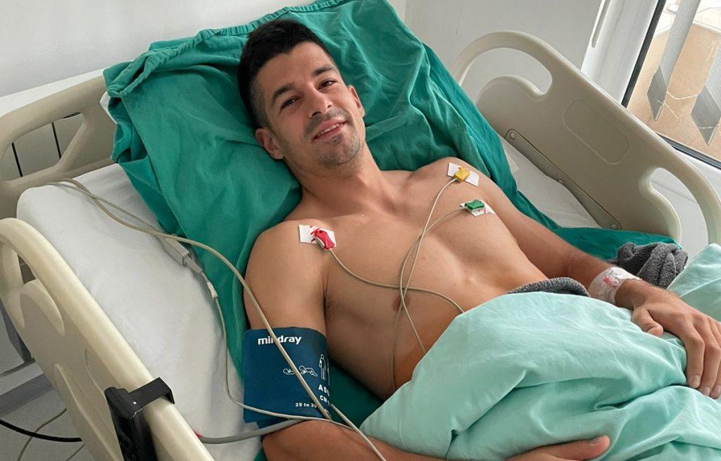 Lazar Anić nakon operacije ''sportkse kile'' 7.7.2021.