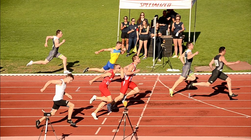 Novo Mesto, Ištvanović, Kovačević 100m finale