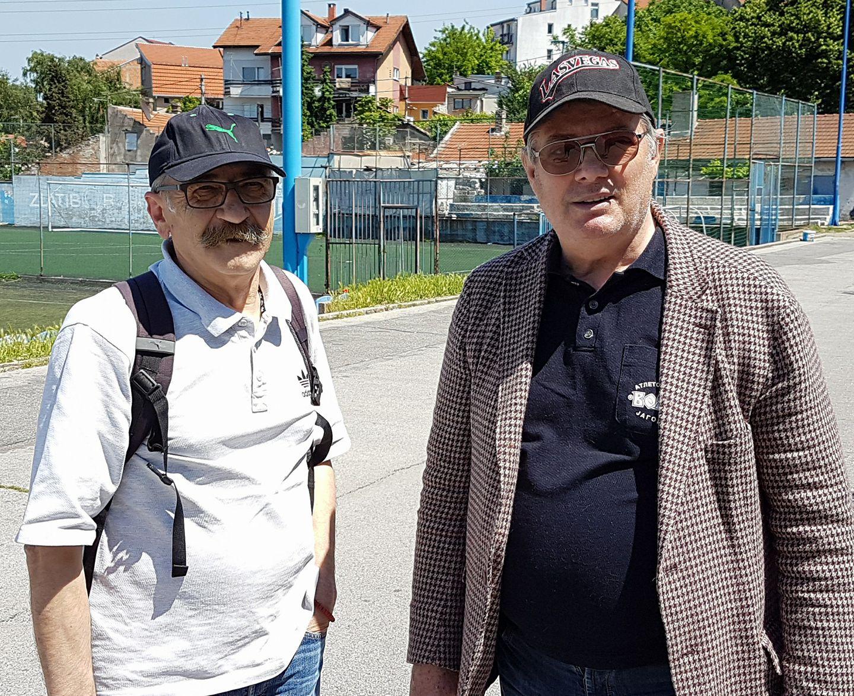 Dragan Nedimović Nedim i Predrag Križan