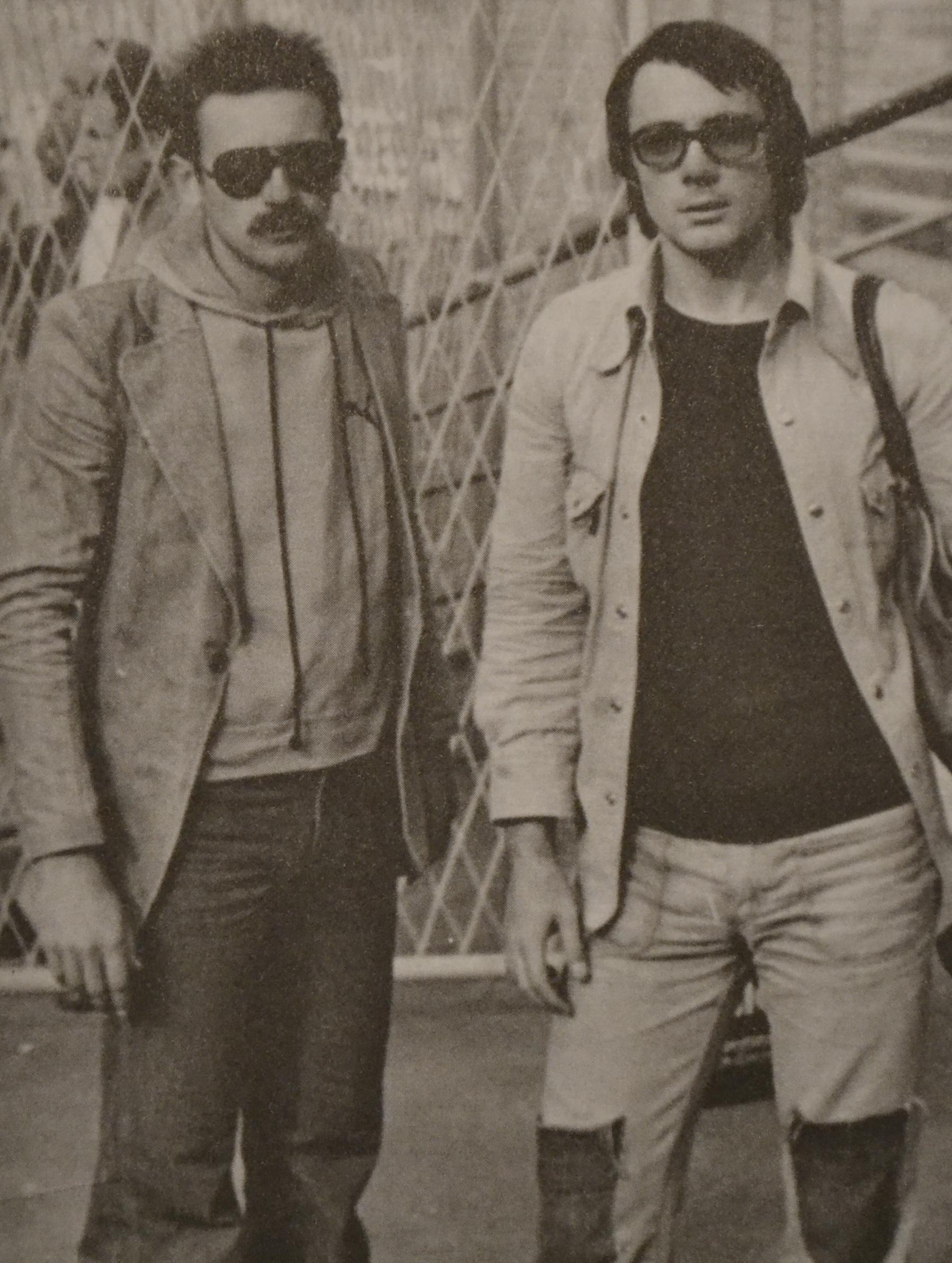Dragan Nedimović i Predrag Križan