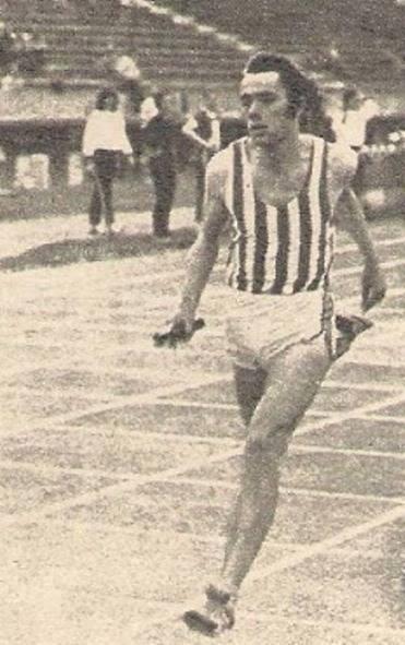 Predrag Križan, štafeta 4x100m Crvena zvezda